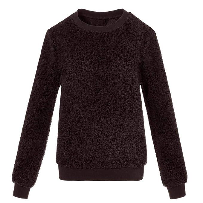 Mujer Sudaderas, ASHOP Blouses For Woman Formal Embroidery Sweatshirt Sudaderas de Fitness Top Deporte: Amazon.es: Ropa y accesorios