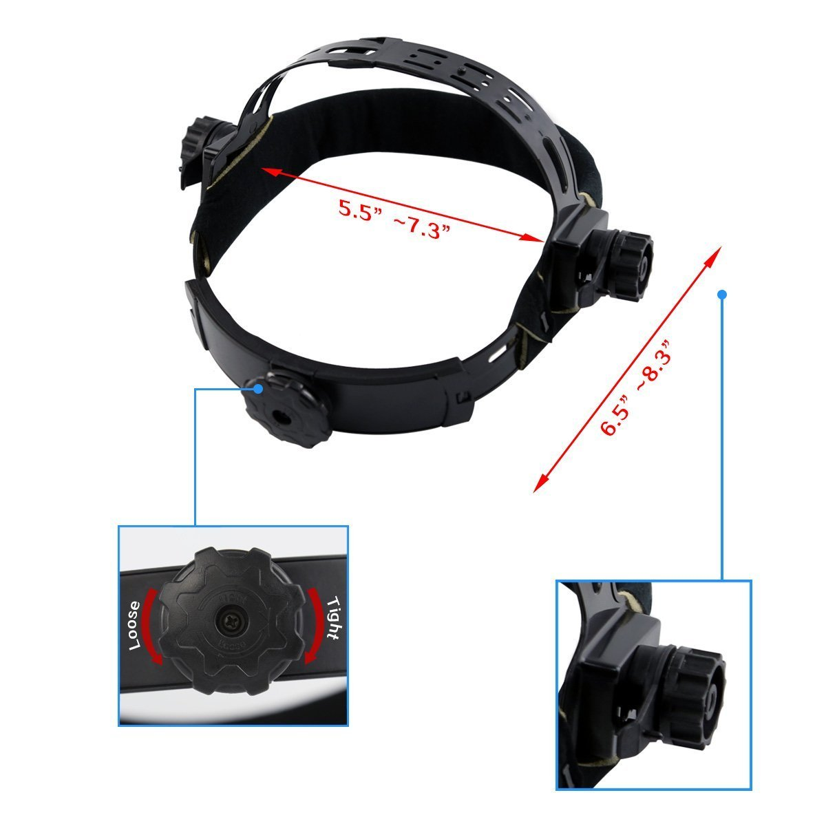 DEKOPRO Auto Darkening Solar Welding Helmet ARC TIG MIG Weld Welder Lens Grinding Mask New Black Design - - Amazon.com
