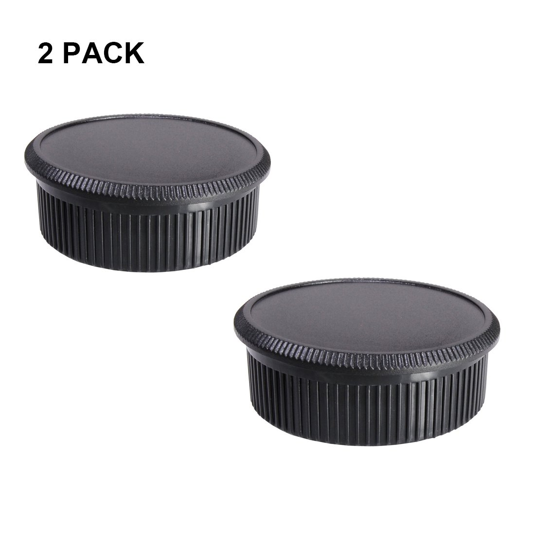 LXH 2 Pack Front Camera Body Cap and Rear Lens Cap Cover for Sony E-Mount NEX Mirrorless Sony Alpha A6500 A6300 a6000 a5100 a5000 a3000 A7R2 A7S2 A7S A7R A7 A7II NEX-7 NEX-6 / 5T / 5R / 5N / 5C / F3 4332256408