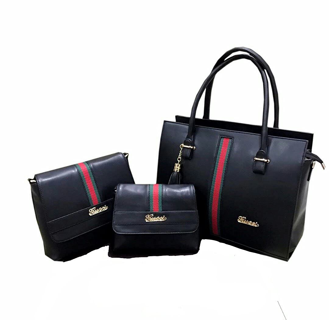 97f3399001 Gucci Women's Combo Of Handbags, Sling Bag Clutch(Black,Gucci012225008801)