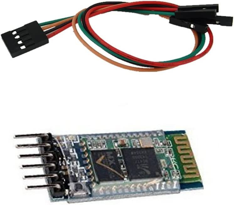 4Pin DuPont Cable Honbay Wireless Bluetooth Host Serial Transceiver Module Slave and Master RS232 For Arduino