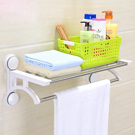 sbwylt de moderna Mode Toallas de mano en el baño fuerte ventosa muy Acero – Frame
