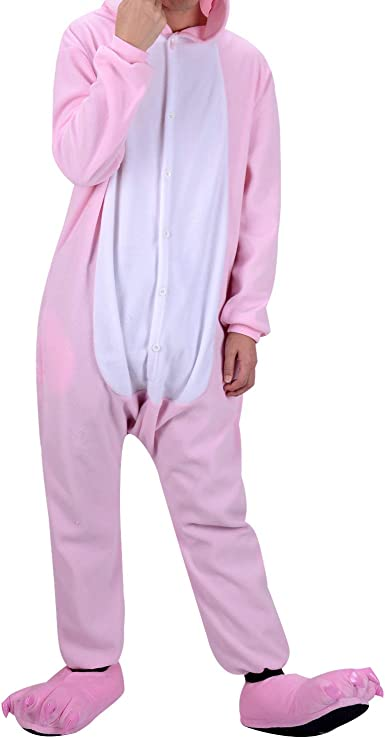 WhiFan Unisex Cálido Pijamas para Adultos Cosplay Animales de ...