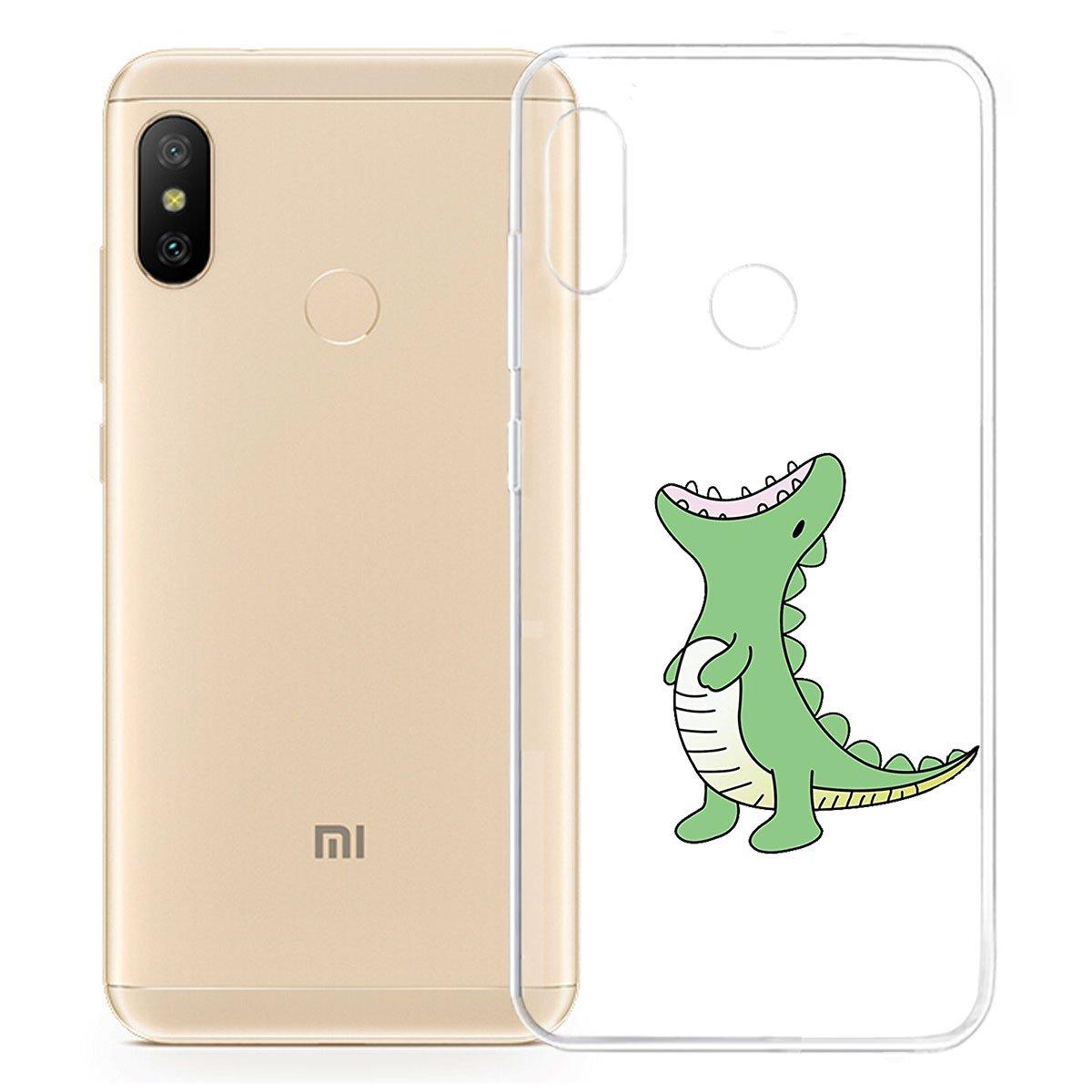 HYMY Funda para Xiaomi Mi A2 Lite (5.84