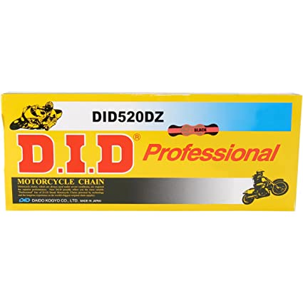 DID 520 x 114 Links DZ2 Offroad Series  Non Oring Gold Drive Chain