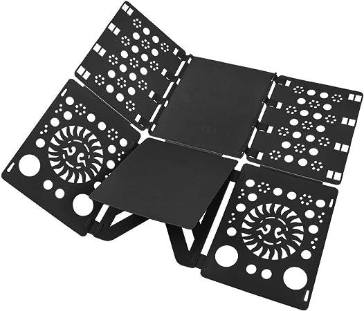 BoxLegend Doblador de Ropa - Tabla para Doblar la Ropa - Placa Ayuda para Plegar la Ropa 57 * 70 cm Camisetas Tablero para Plegar Camisas Negro: Amazon.es: Hogar