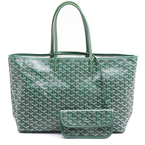 LOYEOY Large Tote Purse Classic Travel & Shopping Top Handle Handbags Shoulder Bags for Women(GreenGM) by LOYEOY