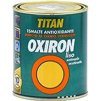 PINTURA OXIRON LISO SATINADO MARRON OXIDO 750 ML