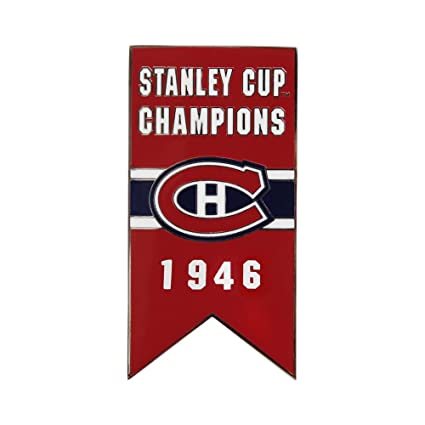 99b1ee52bc Amazon.com   NHL Montreal Canadiens Banner Pin 1946   Sports Related Pins    Sports   Outdoors