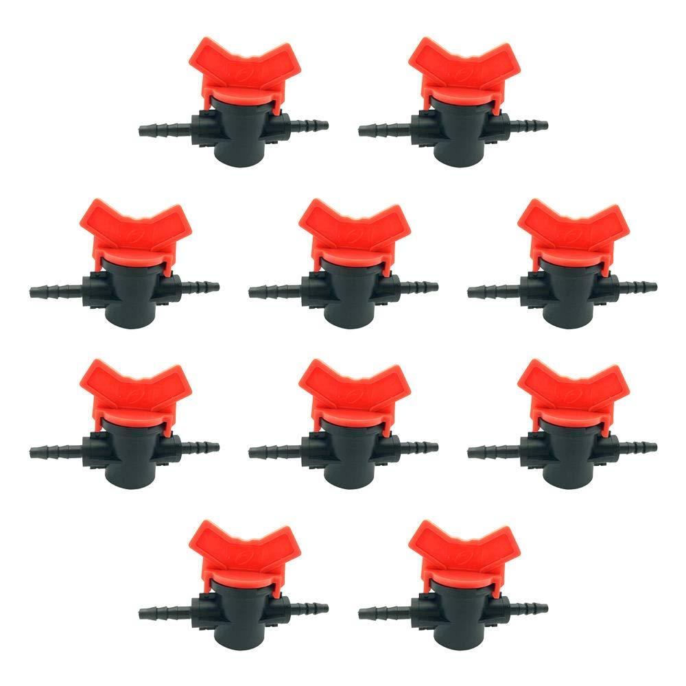 Lecimo Valve /À Passage Direct Capillaire De 4mm Raccords De Coupure Du Robinet /À Tournant Sph/érique Des Vannes /À Deux Voies Utilis/ées Pour La Connexion Entre,2#