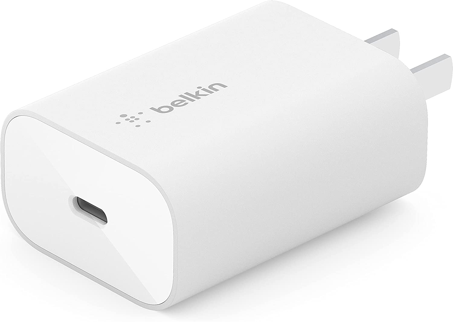 Belkin 25W Power Delivery USB C PPS Wall Charger, USB Type C PD Power Adapter PPS Enabled Fast Charger for iPhone 12, 12 Pro, 12 Pro Max, Mini, Galaxy S20, Ultra, Note 20, Galaxy Tab, iPad and More