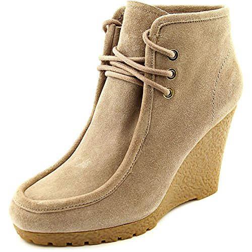 MICHAEL Michael Kors Women's Rory Wedge Bootie Dark