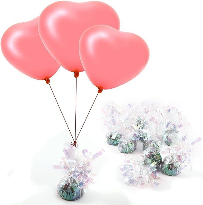 500m Kringelband Helium Hochzeit Geburtstagsparty Ballon Basteln in 7 farbe