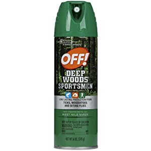 Off! Deep Woods Sportsman Insect Repellent 6 Oz (3 Pack)