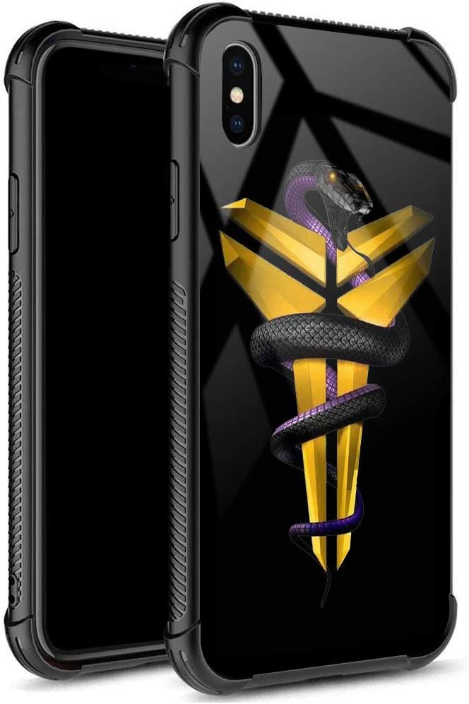 iPhone XR Case,USA Basketball Star 23 Pattern Design 9H Tempered Glass iPhone XR Cases for Girls Men Boy Women [Anti-Scratch] Fashion Cover Case for iPhone XR(6.1inch)