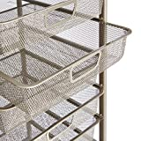 AmazonBasics Rolling Storage Cart and Organizer