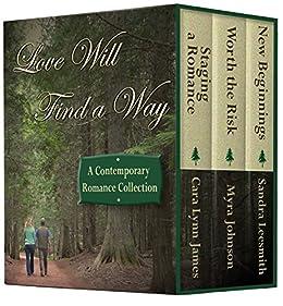 Love Will Find a Way: A Contemporary Novella Collection by [James, Cara Lynn, Leesmith, Sandra, Johnson, Myra]