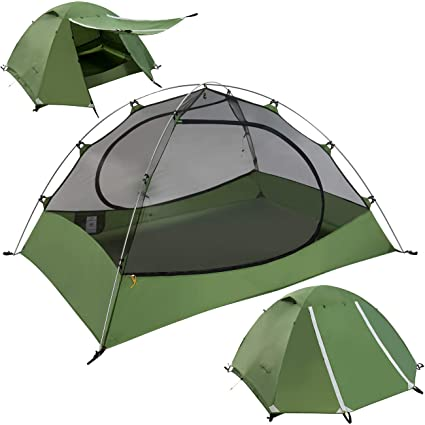Clostnature Lightweight 2-Person Backpacking Tent - 3 Season Ultralight Waterproof C&ing Tent Large  sc 1 st  Amazon.com & Amazon.com : Clostnature Lightweight 2-Person Backpacking Tent - 3 ...