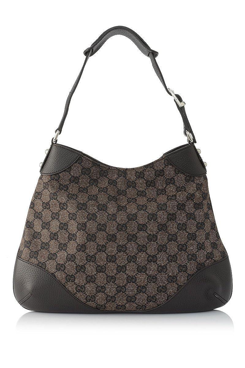 9fbf76a69c Amazon.com: Gucci Women's Tian Patterned GG Supreme Canvas Large ...