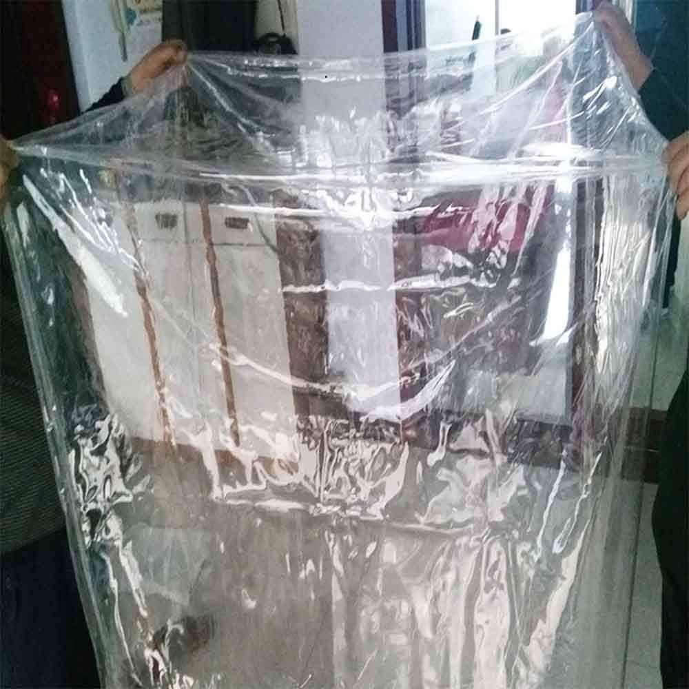 Transparente Personalizable GHHQQZ Lona Alquitranada Anticongelante A Prueba de Polvo Resistencia Al Desgarro Durable Al Aire Libre Jard/ín Funda Muebles 27 Tama/ños