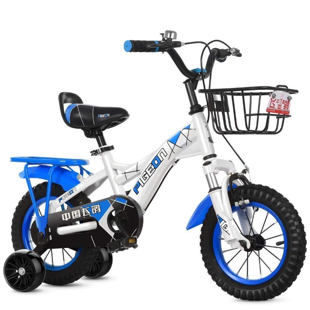 Bicicletas Niño Moto bebé Silla de Paseo niño-Azul A 14inch