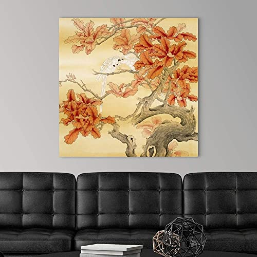 Love Birds II Canvas Wall Art Print