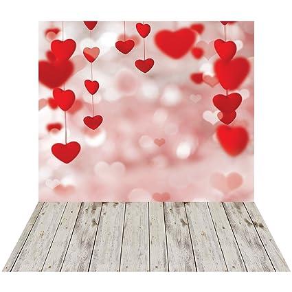 Amazon Com Wolada 6x9ft Valentine S Day Theme Thin Vinyl Customized