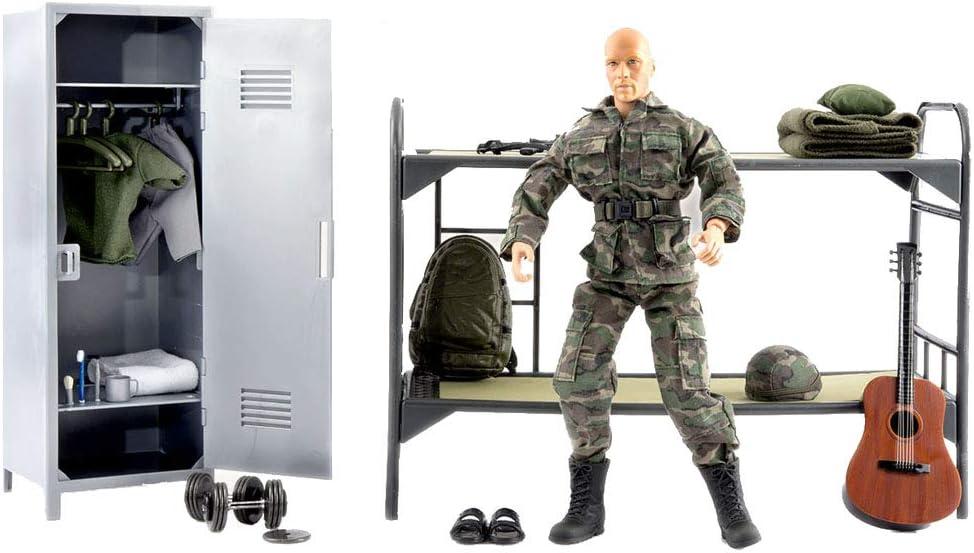 World Peacekeeper Conjunto Vida Hombre Figura de acción Militar   30,5cm Alto   1: 6 Escala   Soldado Combate con más de 36 Accesorios   Destinado a niños y Adultos: Amazon.es: Juguetes y juegos