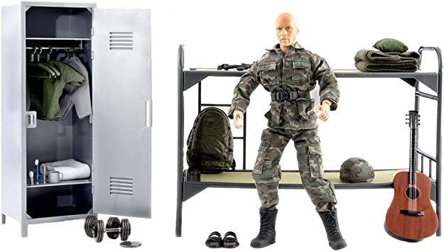 World Peacekeeper Conjunto Vida Hombre Figura de acción Militar | 30,5cm Alto | 1: 6 Escala | Soldado Combate con más de 36 Accesorios | Destinado a niños y Adultos: Amazon.es: Juguetes y juegos