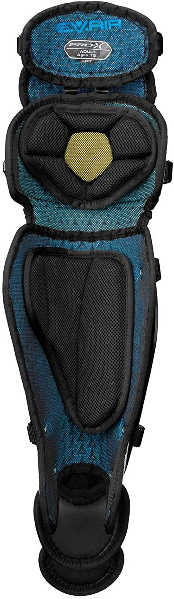 EVAIR Foam for Ultimate Protection /& Breathability Thigh Straps Provides Ultimate Fit /& Mobility EASTON PRO X Baseball Catchers Leg Guards 2020 Reinforced Knee Vented Shell Poron XRD