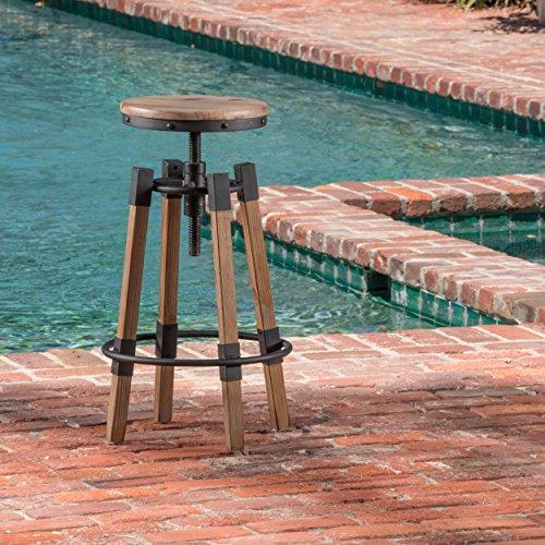 - Barstool in Antique Finish