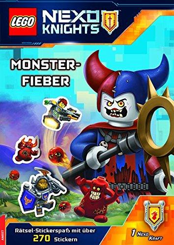 LEGO® Nexo Knights™ Monsterfieber: Rätsel-Stickerspaß mit über 270 Stickern
