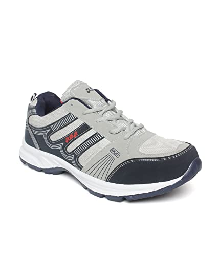 4ad023ae5faaf Extavo Men Big Size Adr Grey and Blue Running Sports Shoes Uk-11: Buy Online  at Low Prices in India - Amazon.in