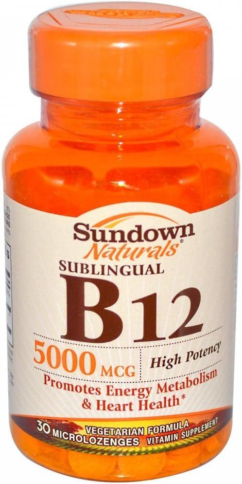 Vitamin B-12 SUBL TAB 5000MCG SDWN Size 30