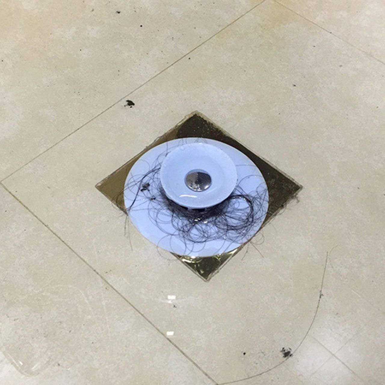 Tappo di Scarico Multifunzione Coperchio di Scarico Pavimento antiodore ITjasnyfall Grigio