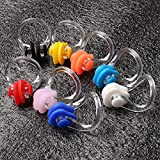 Wode Shop 8 Pieces Silicone Swimming Nose