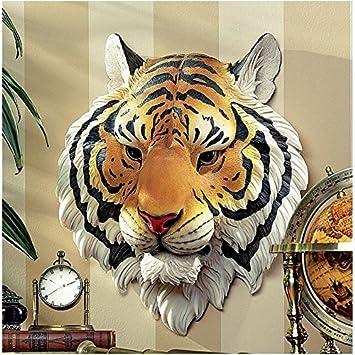 Design Toscano Indonesischer Tiger Wandskulptur Amazonde Garten