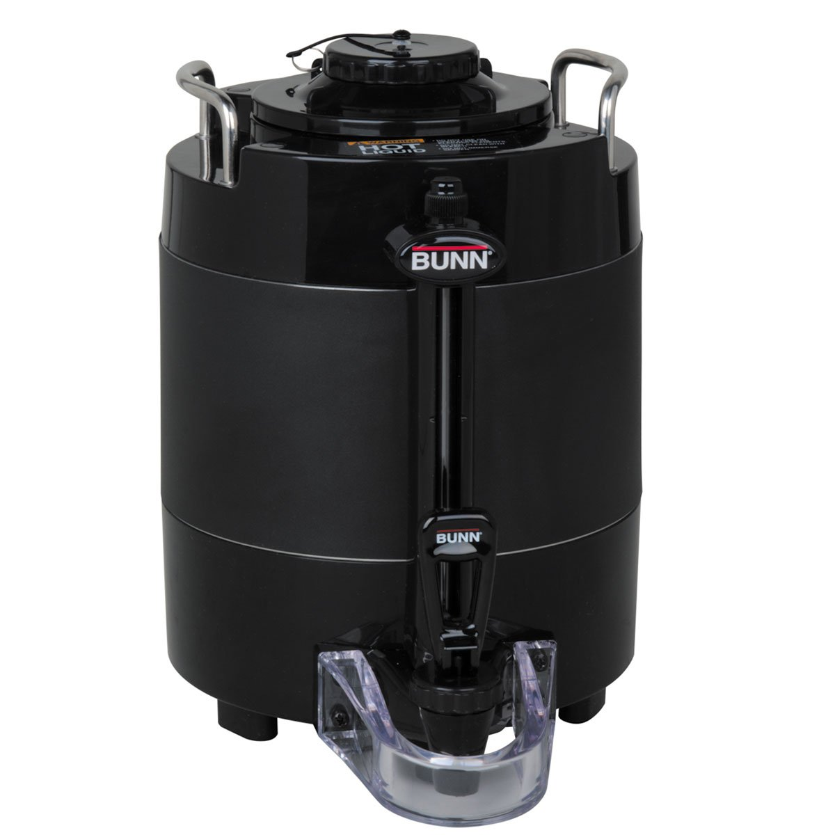 Bunn 44000.0051 TF ThermoFresh Server with Mechanical Sight Gauge Without Base, 1 Gallon Capacity in Black