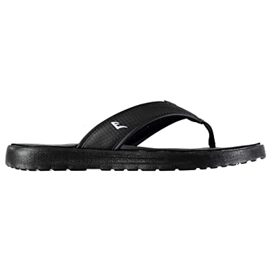 2a822674f7dd2 Everlast Mens Sensei Flip Flops Shoes Water Pool Beach Comfortable Fit Toe  Post Black White UK 11 (45)  Amazon.co.uk  Shoes   Bags