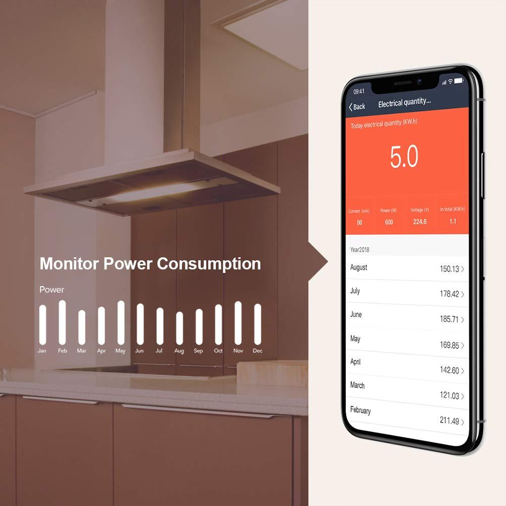 Chollo enchufe inteligente Koogeek compatible Alexa por 12 euros (Cupón Descuento) 2 enchufe inteligente koogeek