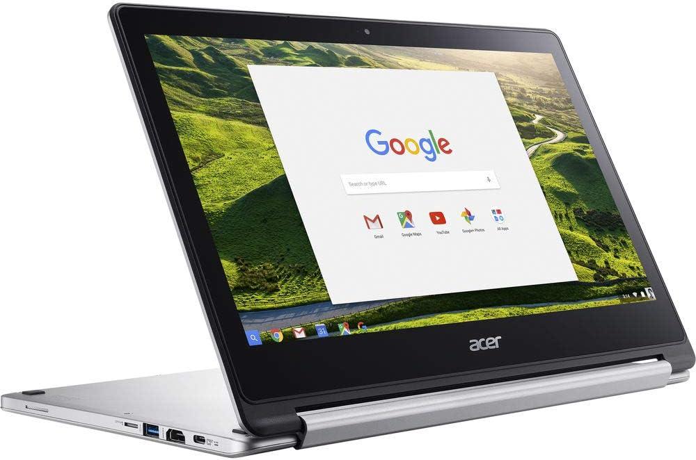 Certified Refurbished In-plane Chrome OS MediaTek M8173C Quad-core 4 Core Acer CB5-312T-K6TF 13.3 Touchscreen LCD Chromebook 1920 x 1080 2.10 GHz 4 GB LPDDR3-32 GB Flash Memory