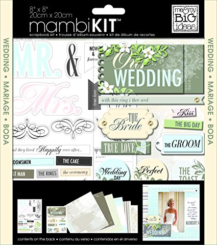 me & my BIG ideas Scrapbook Page Kit, Ou - Wedding Page Kit Shopping Results