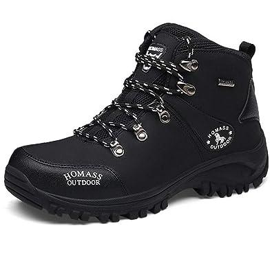 GFONE Men's Waterproof Anti Slip Trekking & Hiking Boots High Top Trainers Walking Shoes Climbing Sneakers Size 5.5 11