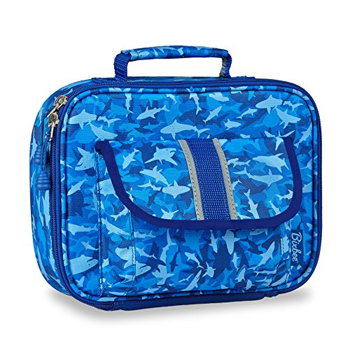 bixbee-kids-blue-shark-camo-insulated-lunch-box