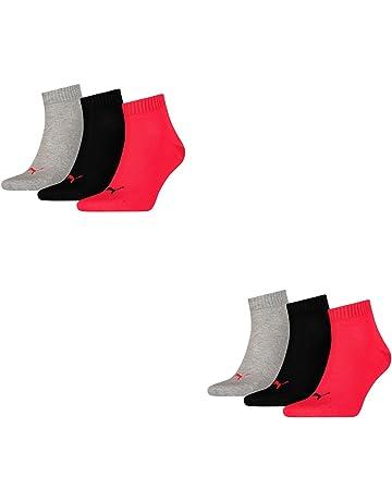 Puma Quarter 3P - Calcetines de deporte para hombre (3 pares)