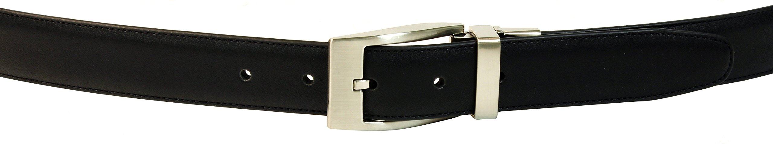JC Cole Est 1980 Men's JC109-30MM Glove Leather Reversible 34 by JC Cole Est 1980 (Image #2)