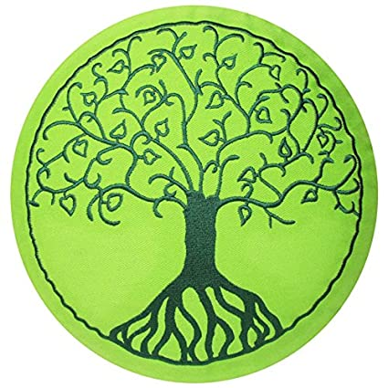 maylow - Yoga con corazón ® - - Cojín de yoga con bordado ...