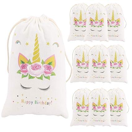 Amazon.com: 12 piezas Unicorn regalos para niñas – Mochila ...