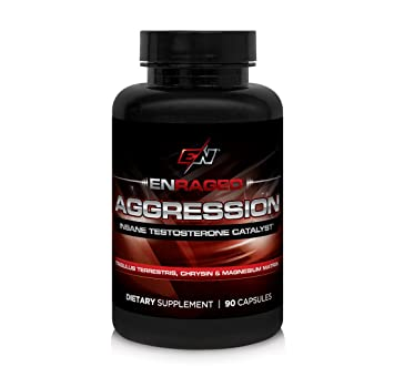 ENRAGED NUTRITION AGGRESSION Insane Testosterone Catalyst: Men's Supplement  With Tribulus