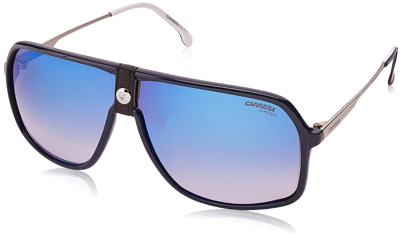 Amazon.com: Gafas de sol Carrera 1019/S 0PJP azul/KM gris ...